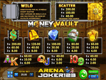 Slot Money Vault