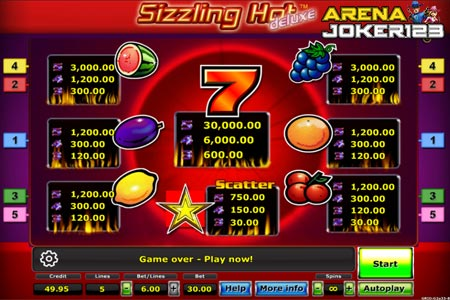 Slot Sizzling Hot